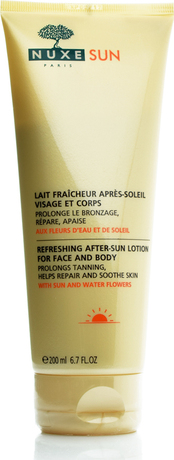 Освежаващ лосион за след слънчеви бани , Nuxe Refreshing After-Sun Lotion for Face & Body, 200ml