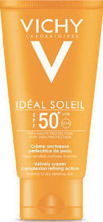 Слънцезащитен крем  , Vichy Ideal Soleil Velvety Face Cream , SPF50+ 50ml