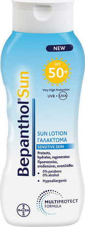 Емулсия за лице и тяло , Bepanthol Sun Lotion , SPF 50+ 200 ml