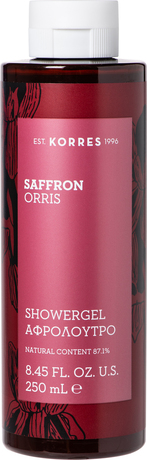 Ароматен душ гел Шафран и Ирис , Korres Saffron Orris Shower Gel 250ml