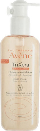 Нутри-флуиден почистващ гел  , Avene Eau Thermale Trixéra Nutri-Fluid Cleanser Gel , 400ml