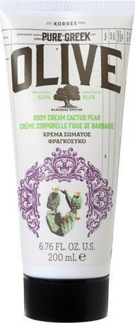 Овлажняващ крем с маслиново масло , Korres Pure Greek Olive Cactus Pear , 200ml