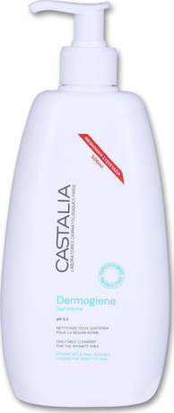 Интимен гел , Castalia Dermogiene Gel Intime PH5.2 500ml