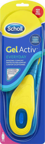Стелки с технология GelActiv за всеки ден дамски , Dr. Scholl GelActiv Everyday Women Νο37-42 Insoles 1 Pair