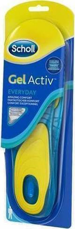Стелки с технология GelActiv за всеки ден мъжки , Dr. Scholl GelActiv Everyday Men Νο42-48 Insoles 1 Pair