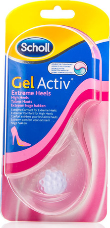 Стелки с технология GelActiv за висок ток , Dr. Scholl Gel Active Extreme (High) Heels Insoles 1 Pair
