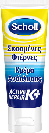 Крем за напукани пети  , Dr. Scholl Active Repair K+ 60ml Replenishing Cream For Cracked Heels