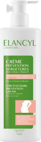 Крем против стрии , Elancyl  Stretch Mark Prevention Cream 500ml