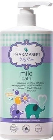 Бебешки  душ гел , Pharmasept Baby Mild Bath  300 ml / 1lt