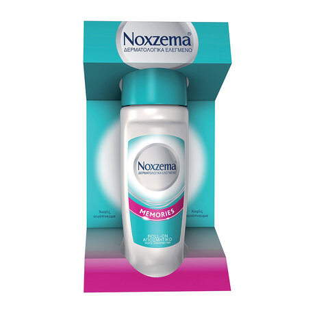 Ноксима рол-он Memories  , Noxzema Memories Roll On Deodorant for protection & gentle care, 50ml