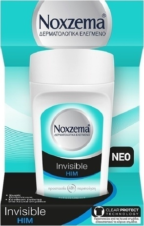 Ноксима рол-он  за мъже  , Noxzema Roll On Invisible Him Men Deodorant protection from white marks, 50ml