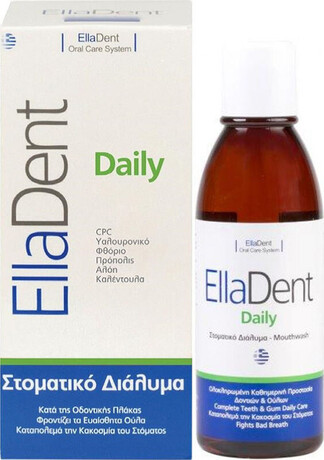 Вода за уста за кариес, гингивит, и лош дъх, EllaDent Daily Mouthwash 500ml
