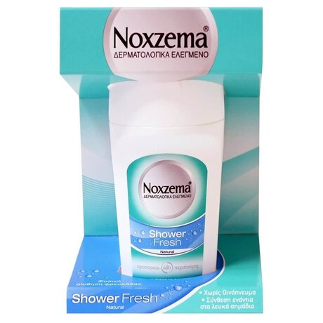 Ноксима рол-он, NOXZEMA Deodorant Shower Fresh Natural Roll On 50ml