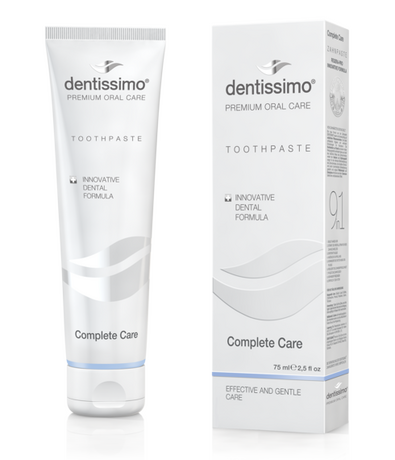 Паста за зъби Complete Care - Цялостна Грижа, Dentissimo toothpaste COMPLETE CARE 75ml