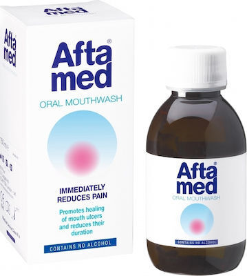 Вода за уста за афти, Aftamed Mouthwash 150ml For Oral Ulcers