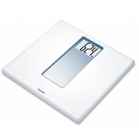 БОИРЕР КАНТАР XXL 180КГ PS 160 / BEURER PS 160  ACRYLIC ELECTRONIC BATHROOM SCALES WITH EXTRA LARGE DISPALY