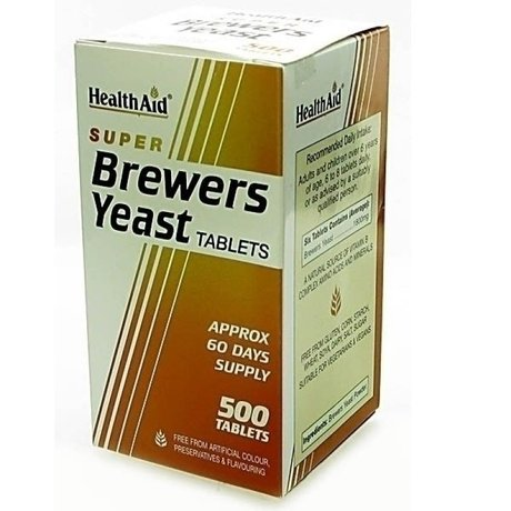 ХЕЛТ ЕЙД БИРЕНА МАЯ 500 ТАБЛ / HEALTH AID BREWERS YEAST 500tabs