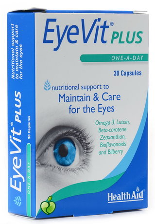 ХЕЛТ ЕЙД АЙВИТ ПЛЮС 30 КАПС /  HEALTH AID EYEVIT PLUS 30 CAPS