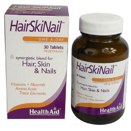 ХЕЛТ ЕЙД ХЕЪР-СКИН-НАЙЛ ВИТ 30 ТАБЛ / HEALTH AID HAIR, SKIN & NAIL FORMULA TABLETS 30'S