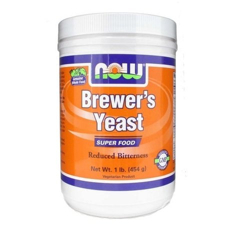 НАУ ФУДС БИРЕНА МАЯ 1 LB (454 ГР) / NOW BREWERS YEAST POWDER 1 LB (454 GR)