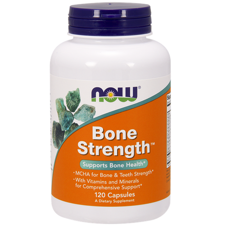 НАУ ФУДС ДОБАВКА ЗА КОСТИТЕ 120 КАПС / NOW BONE STRENGTH 120 CAPS