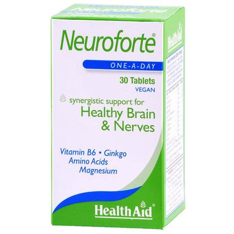 ХЕЛТ ЕЙД НЕВРО ФОРТЕ 30 КАПСУЛИ / HEALTH AID NEUROFORTE 30TAB