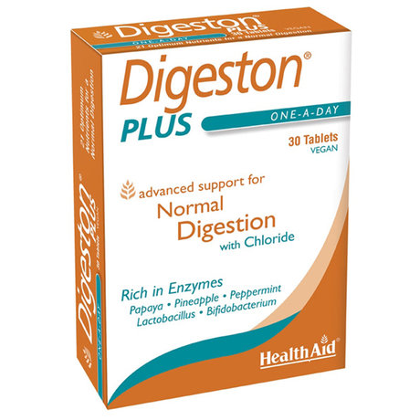 ХЕЛТ ЕЙД ДИГЕСТОН ТАБЛ. * 60 / HEALTH AID DIGESTON PLUS 30TABS