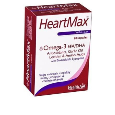 ХЕЛТ ЕЙД ХАРТМАКС 60 КАПСУЛИ / HEALTH AID HEARTMAX 60caps