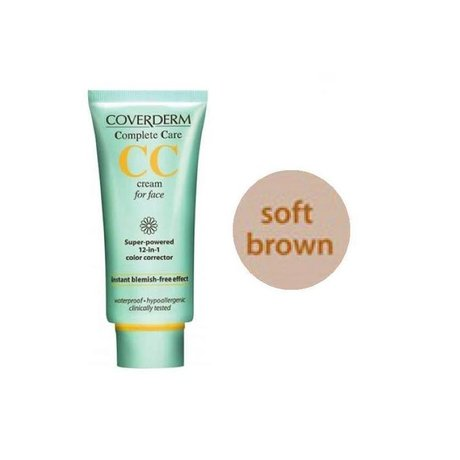 Крем СС МЕКО КАФЯВО , Coverderm Complete Care CC Cream SPF25 , 40 мл