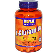 НАУ ФУДС ГЛУТАМИН ТАБЛ. 1000 МГ. X120 / NOW L-GLUTAMINE 1000MG 120 CAPS