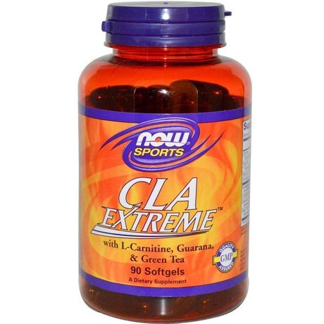 НАУ ФУДС КЛА ЕКСТРИЙМ ДРАЖЕ  90/ NOW FOODS CLA EXTREME 750 MG X 90 SOFTGELS
