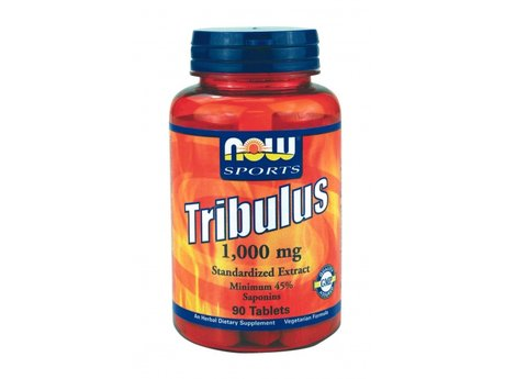 НАУ ФУДС ТРИБУЛУС ТАБЛ. 1000 МГ.  90 табл/NOW SPORTS TRIBULUS 1000 MG, 90 TABS