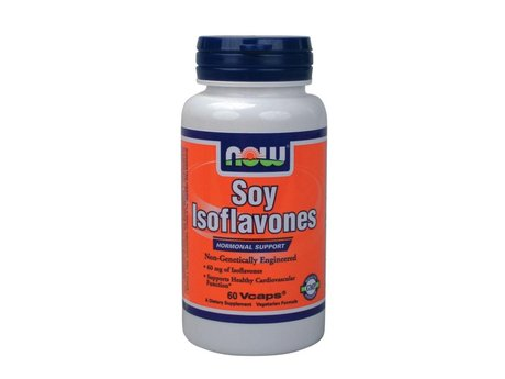 НАУ ФУДС СОЯ ИЗОФЛАВОНИ КАПС. 150 МГ.  60/NOW SOY ISOFLAVONES 150 MG / 40% 60 VCAPS