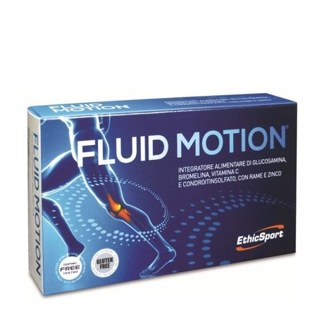 ЕТИКСПОРТ FLUID MOTION ЗА ЗДРАВИ СТАВИ 1400 mg 30 ТАБЛ /   ETHICSPORT FLUID MOTION 1400 mg 30TABL