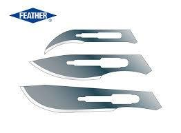 FEATHER ОСТРИЕТА ЗА СКАЛПЕЛ 100бр / FEATHER DISPOSABLE SURGICAL BLADES *100
