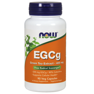 НАУ ФУДС EGCG ЗЕЛЕН ЧАЙ ЕКСТРАКТ КАПС. 400 МГ. * 90 / NOW EGCG GREEN TEA EXTRACT 400 MG 90 VCAPS