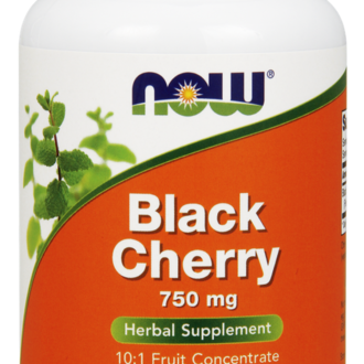 НАУ ФУДС ДИВА ЧЕРЕША КАПСУЛИ 750 МГ. * 90 / NOW BLACK CHERRY EXTRACT 750MG 90 VCAPS
