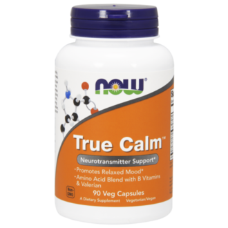 НАУ ФУДС TRUE CALM РЕЛАКС 90КАПС/NOW TRUE CALM AMINO RELAXIER 90 CAPS