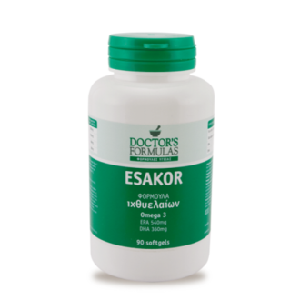 ДОКТОРС ФОРМУЛАС ЕСАКОР (ОМЕГА 3) 90 МЕКИ КАПС. / DOCTOR`S FORMULAS ESAKOR 90 SOFTGELS