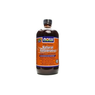 НАУ ФУДС РЕСВЕРАТРОЛ 150МГ.Х473МЛ / NOW RESVERATROL LIQUID 150 MG VEGETARIAN 473ML
