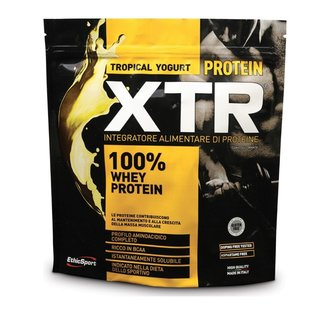 ЕТИКСПОРТ 100% СУРОВАТЪЧЕН ПРОТЕИН  ТРОПИКАЛ ЙОГУРТ XTR 500ГР / ETHICSPORT 100% WHEY PROTEIN XTR 500GR TROPICAL YOGURT